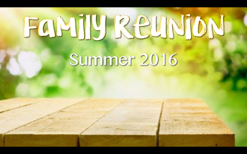 Family Reunion Graphic
